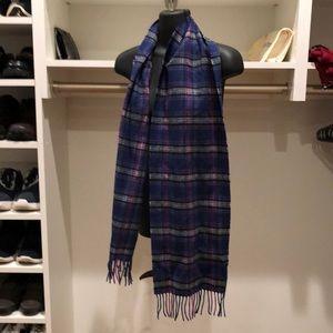 COACH (authentic) plaid flannel scarf